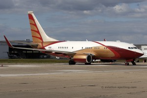 N888TY Boeing B737-700 BBJ BB Five Inc