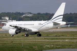 Yalian Business Jet Airbus 318 Elite