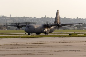 US Air Force Lockheed L-100 C-130J Hercules