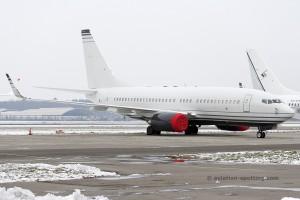 VP-BFT Boeing B737-700 BBJ Veteran Air