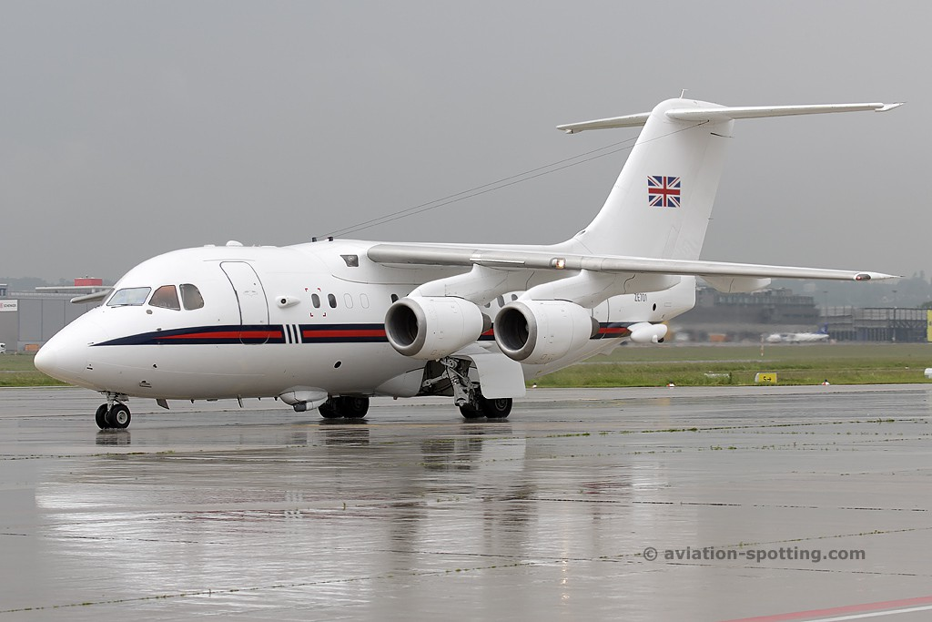 Royal Air Force British Aerospace 146-100 CC.2