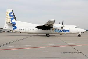 VLM Airlines Fokker F27 F50 (Belgium)