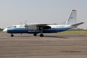 Motor Sich Airlines Antonov 24 (Ukraine)