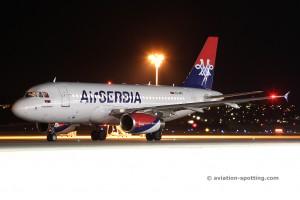 Air Serbia Airbus 319 (Serbia)