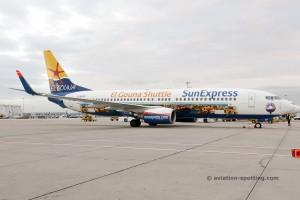 Sun Express Germany Boeing B737-800 el gouna special