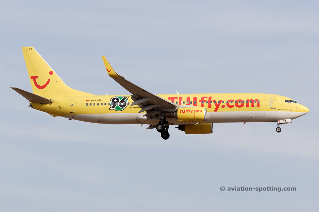 Tuifly Boeing B737-800 (Germany) hannover 96