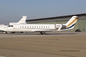 Air-X Bombardier Challenger 850 Canadair CRJ 100/200 9H-BOO
