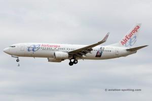 Air Europa Boeing B737-800 (Spain)