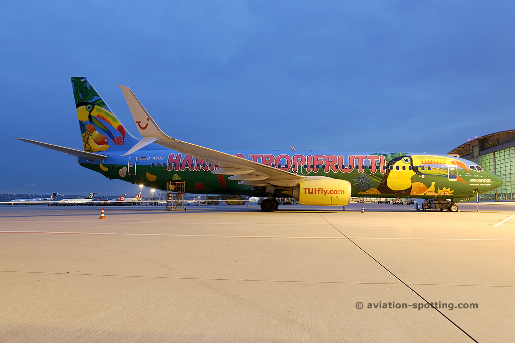 Tuifly Boeing B737-800 (Germany)