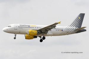Vueling Airlines Airbus 319 (Spain)