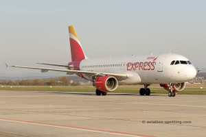 Iberia Express Airbus 320 (Spain)