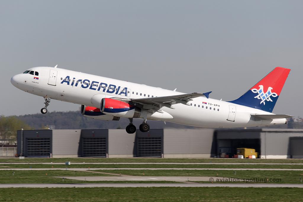 Air Serbia Airbus A320 (Serbia)