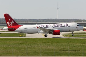 Virgin Atlantic Airways Airbus 320 (UK)
