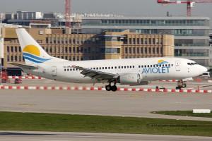 Aviolet Boeing B737-300 (Serbia)