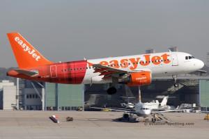 Easyjet Airbus 319 (UK)