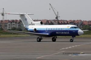 Motor Sich Airlines Yakovlev YAK 40 (Ukraine)