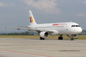 Iberia Express Airbus 320, (Spain)