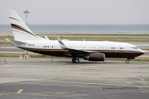 N162WC Boeing B737-700 BBJ