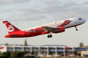 Air Berlin Airbus 320 (Germany) Topbonus special livery