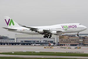 Wamos Air Boeing B747-400 (Spain)