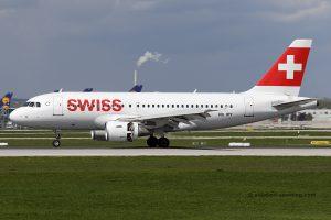 Swiss Airbus 319