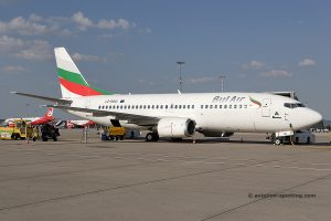 Bul Air Boeing B737-300 (Bulgaria)