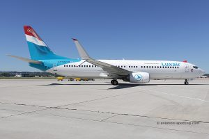 Luxair Boeing B737-800 (Luxembourg)