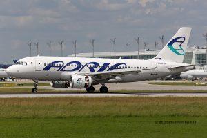 Adria Airways Airbus 319 (Slovenia)