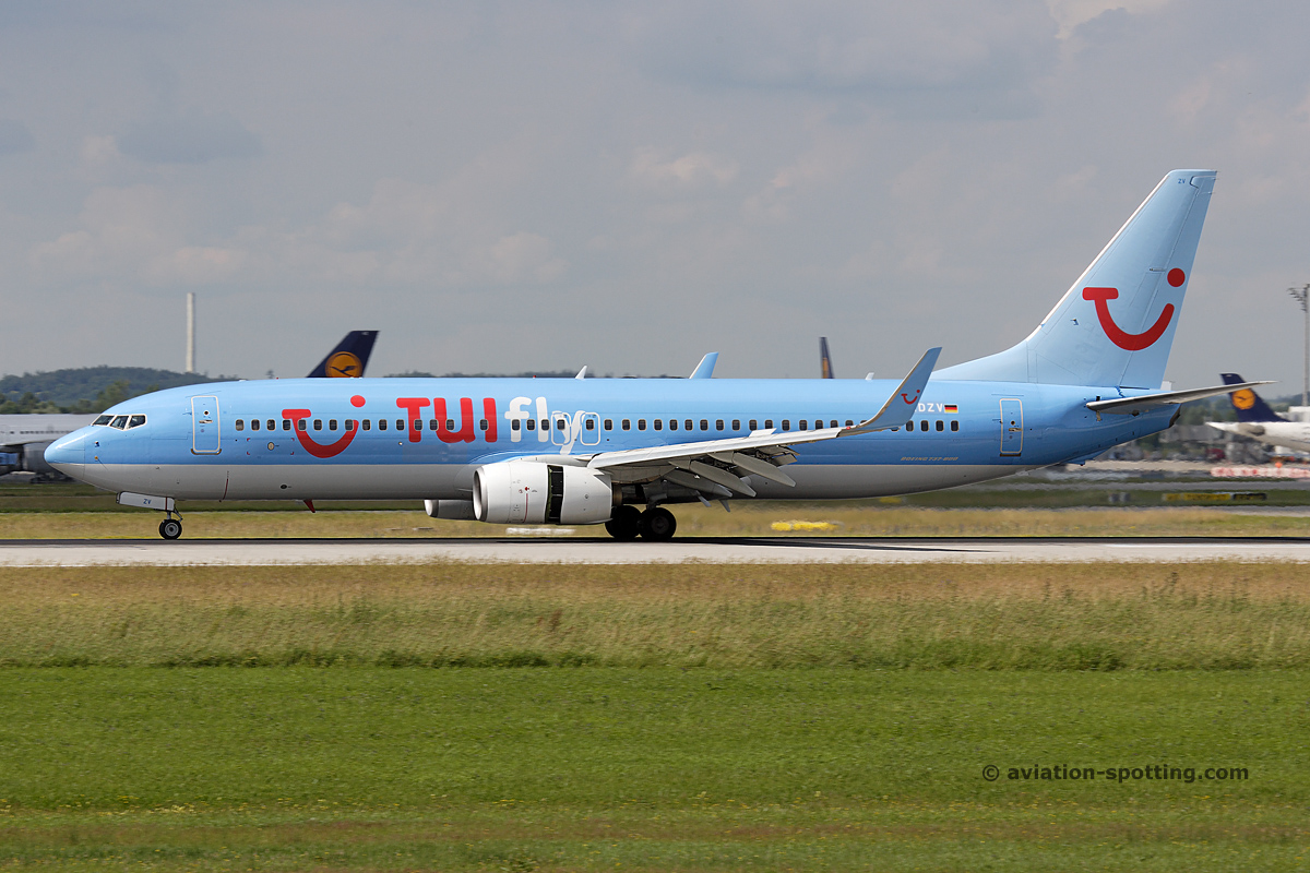 TUI Boeing B737-800 (Germany)