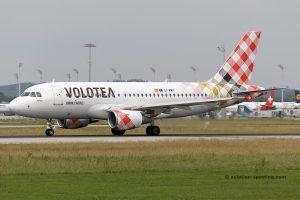 Volotea Airbus 319 (Spain)