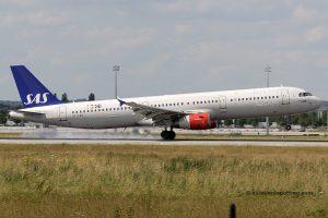 SAS Scandinavian Airlines Airbus 321