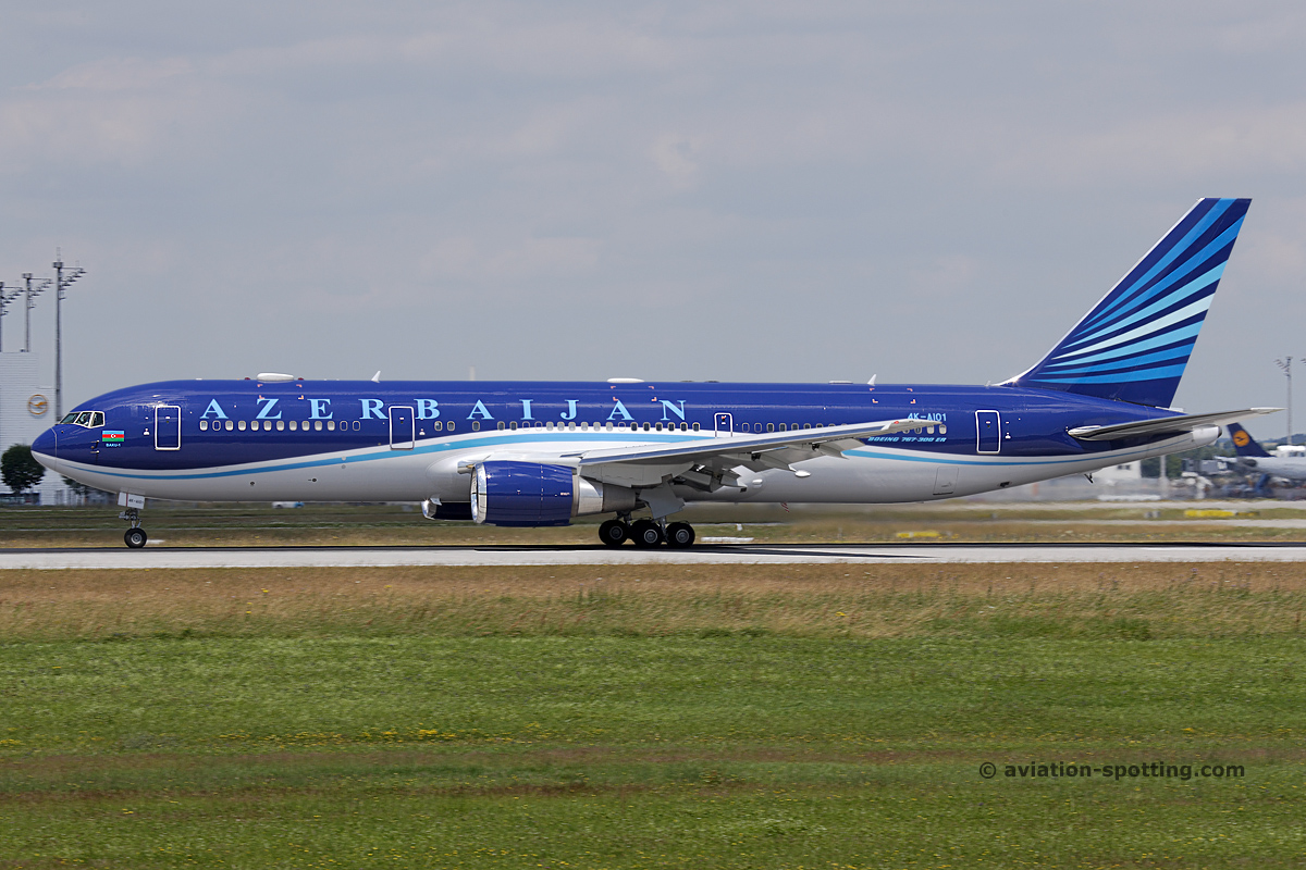 Azerbaijan Government Boeing 767-300