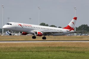Austrian Airlines Embraer E195
