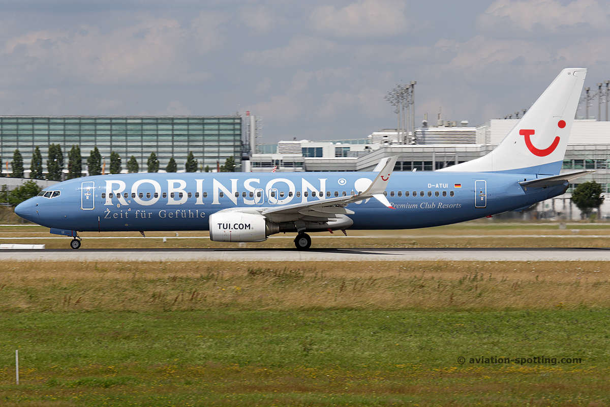 TUI Boeing B737-800 (Germany) Robinson special