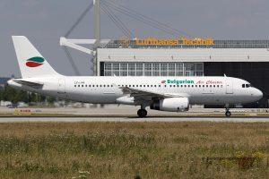 Bulgarian Air Charter Airbus 320