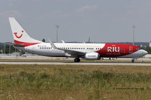 TUI Boeing B737-800 (Germany) RIU special livery