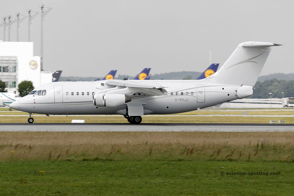 Cello Aviation British Aerospace BAe 146-200 (UK)