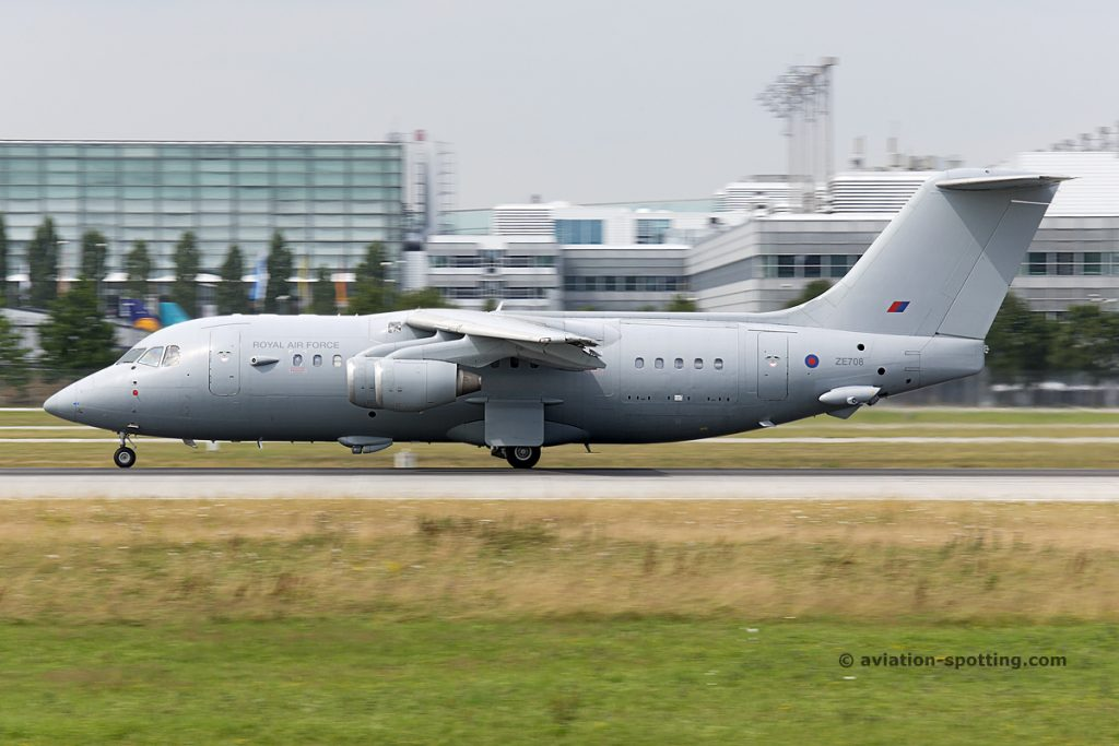 Royal Air Force British Aerospace BAe 146 C.3 (UK)