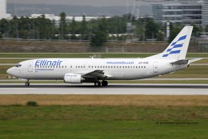 Ellinair Boeing B737-400 (Greece)
