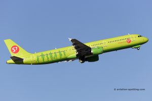 S7 Airlines Airbus 321 (Russia)