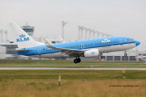 KLM Royal Dutch Airlines Boeing B737-700 (Netherlands)