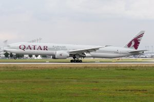 Qatar Airways Boeing B777-300