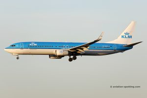 KLM Royal Dutch Airlines Boeing B737-900 (Netherland)