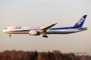 ANA All Nippon Airways Boeing B787-9 (Japan)