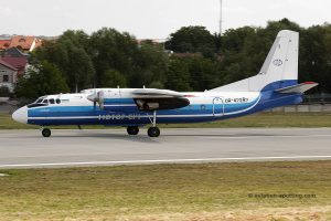Motor Sich Airline Antonov 24 (Ukraine)