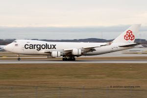 Cargolux Airlines International Boeing B747-400 F (Luxembourg)