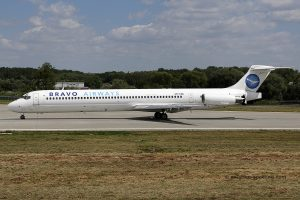 Bravo Airways McDonnel Douglas MD 83 (Ukraine)