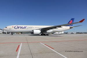Onur Air Airbus 330-300 (Turkey)