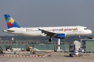 Small Planet Airlines Germany Airbus 320