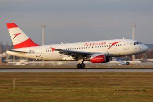 Austrian Airlines Airbus 319